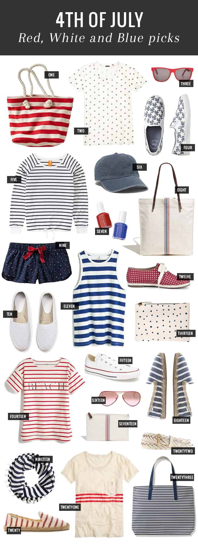 23 Red, White & Blue Buys for 4th of July | Hello Natural