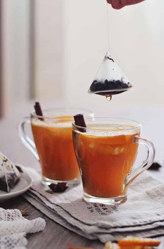 Sweet + Spicy Chai Tea Cocktail Recipe