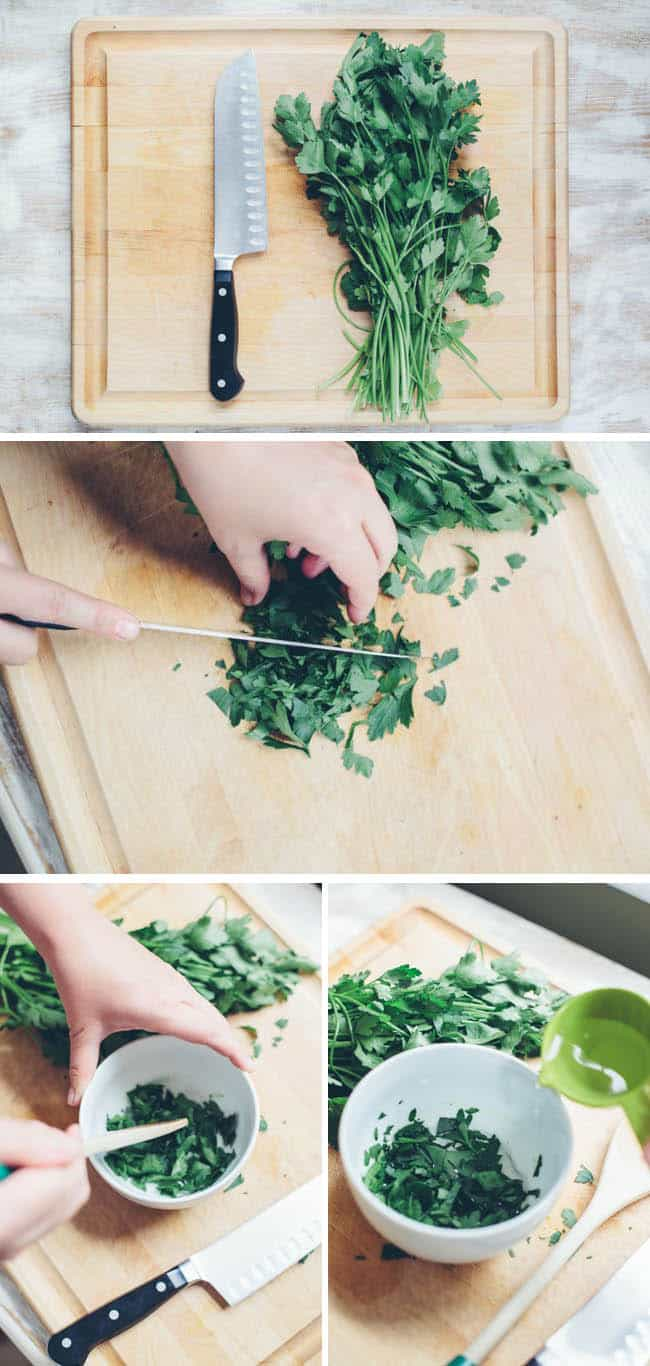 How To Make Parsley Eye Mask | Hello Natural