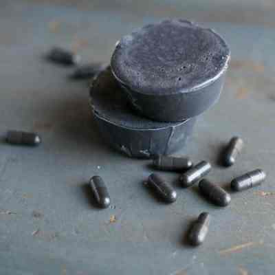 Activated Charcoal + Tea Tree Soap