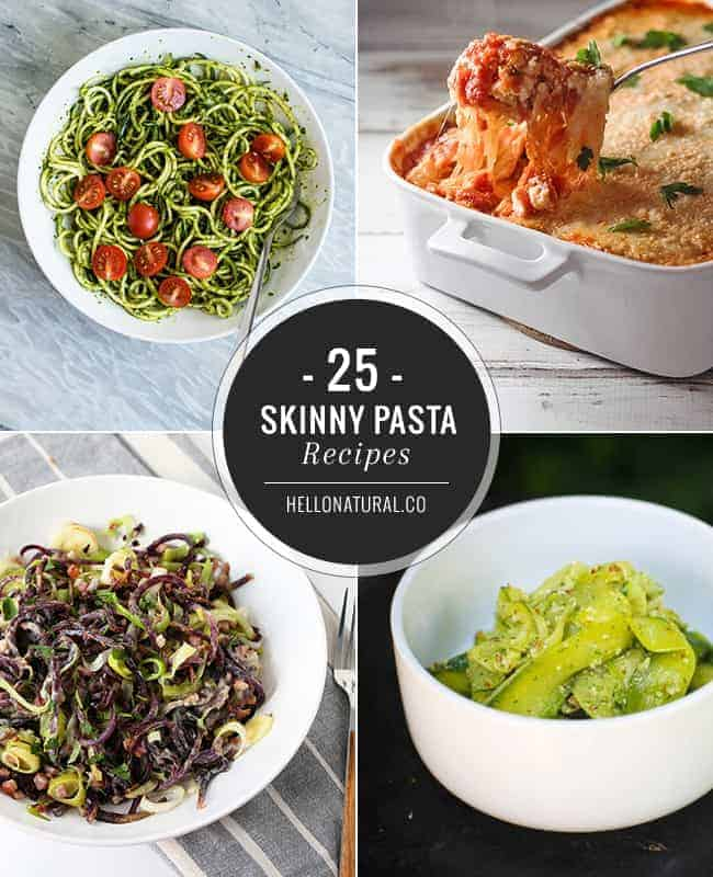 25 Skinny Pasta Recipes