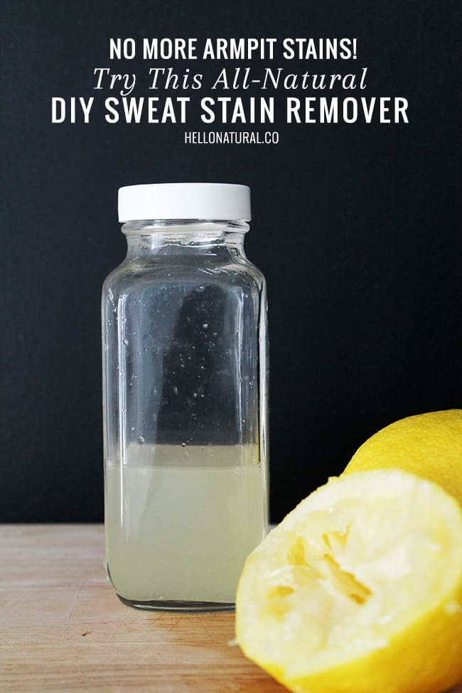 Natural Stain Remover Diy