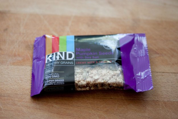 Kind Chewy Granola Bar in Maple + Pumpkin Seed / Birchbox April 2014 / hello, rigby!