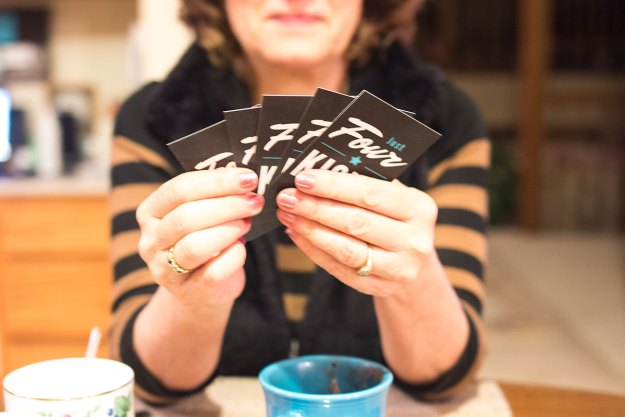 Just Four Kicks Card Game Review // Hello Rigby Seattle Lifestyle Blog