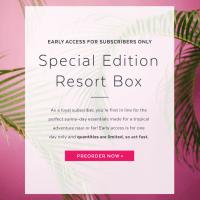 POPSUGAR Must Have 2016 Resort Box Current Subscriber Presale!