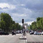 Champs-Elysées in Paris autofrei