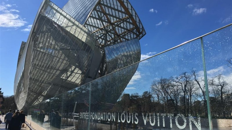 Neuheit: Die Fondation Louis Vuitton in Paris