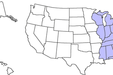 Map Of States East Of The Mississippi River - Us map east of mississippi river