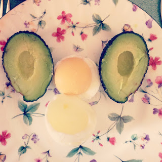 Egg & Avocado Breakfast Face