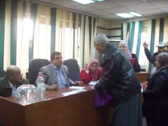 رئيس حي حلوان يعقد لقاء للجماهير في قاعة المؤتمرات بحي حلوان