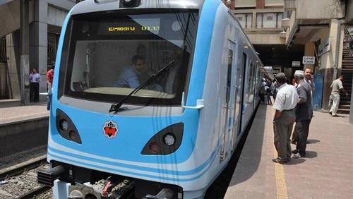 «المترو»: اليوم تشغيل القطار المكيف الثامن علي خط «المرج - حلوان»