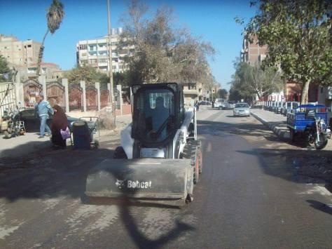 تتنظيف شوارع حلوان