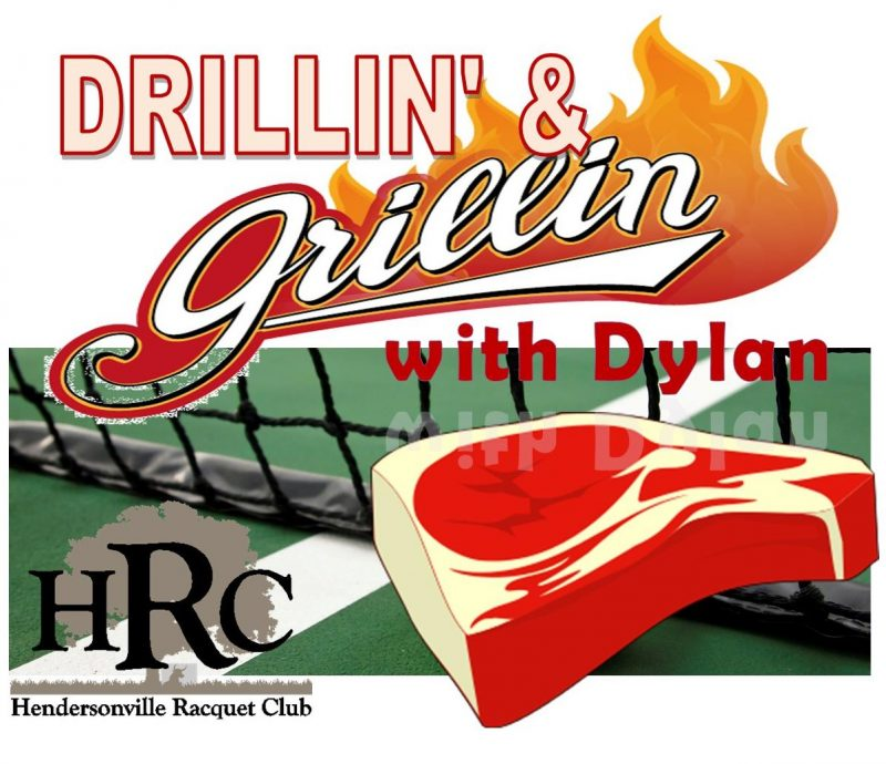 Drillin' and Grillin' with Dylan Friday Night!