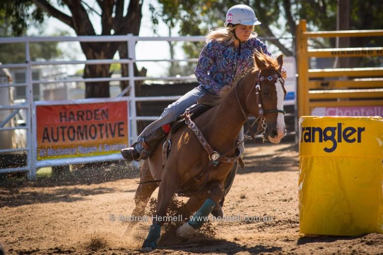 Harden Rodeo novice barrel
