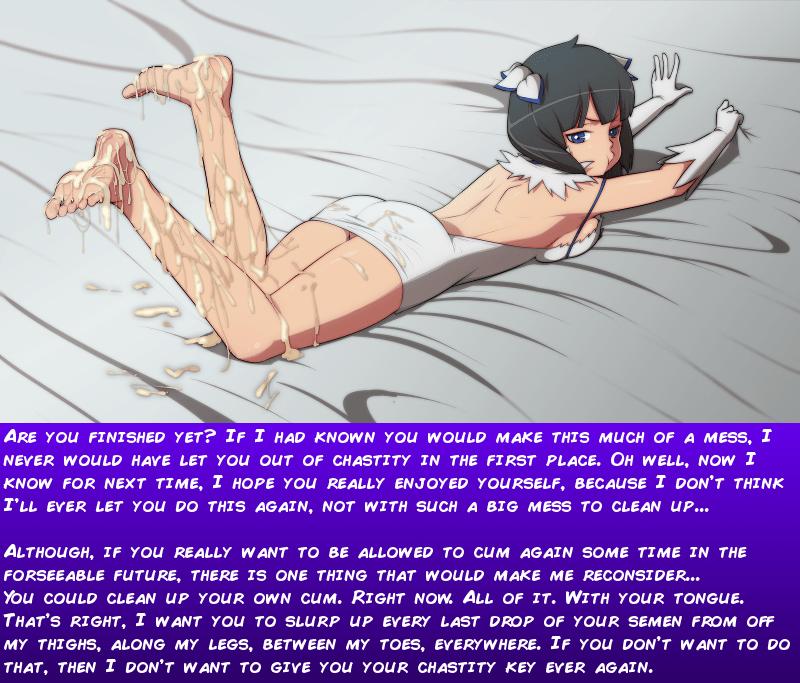hentai femdom chastity captions