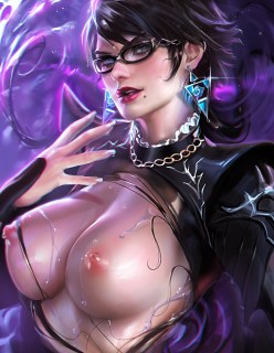 Japanese Bayonetta Hentai Drawing 12