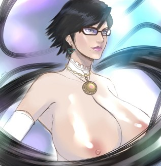 Japanese Bayonetta Hentai Drawing 30