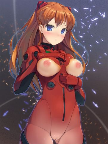 Asuka Langley Evangelion Hentai Drawing 20