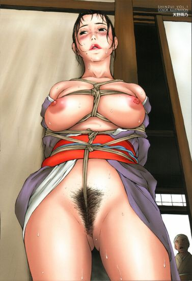 Japanese Bondage Hentai Drawing 26