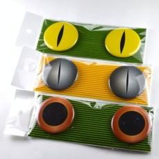 蛇の眼缶バッジ