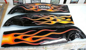 Lasse Flames by Herb Martinez, Livermore, CA. Serving the San Francisco Bay area.