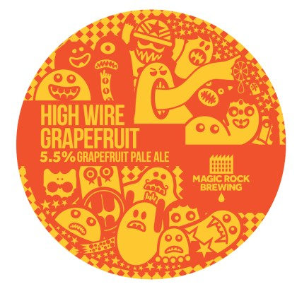 High Wire Grapefruit, Grapefruit Pale Ale, 5.5%