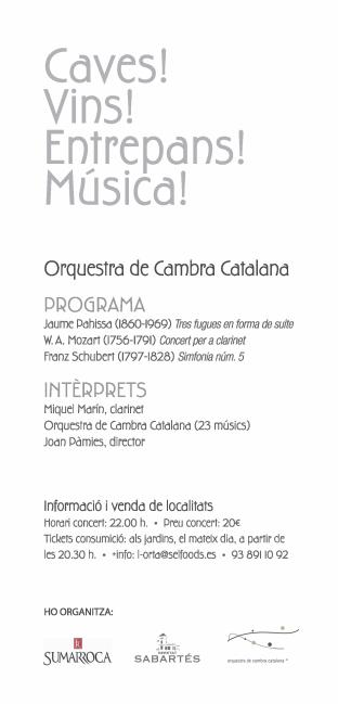 Festival música clásica Barcelona