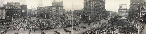 1914 G.A.R. Parade in Detroit, Michigan, via Wikipedia. Public domain- Library of Congress.