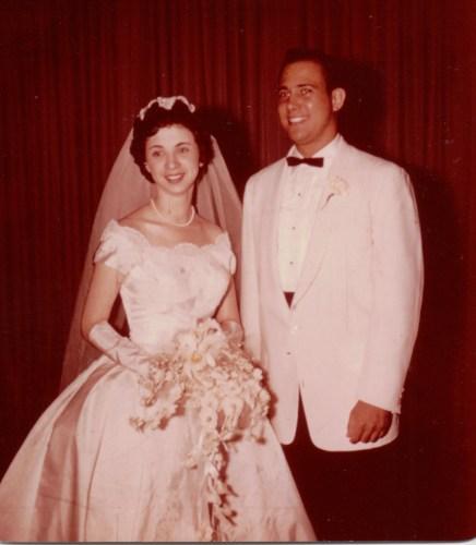 Harold Reuben Ribakow and bride, Summer, 1959.