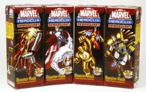 A: They're all from the Armor Wars set of Marvel HeroClix from Fall 2005.