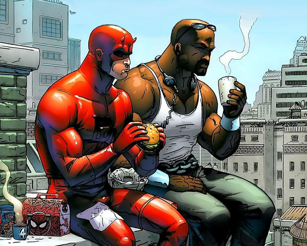 Luke Cage Demolidor quadrinhos