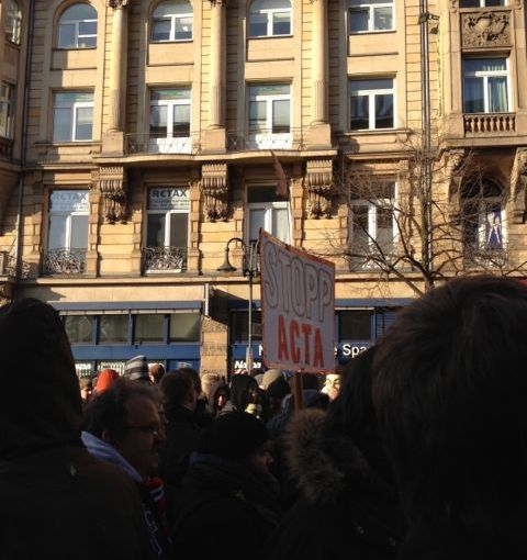 Dokumentation der #StopActa-Demonstration in Frankfurt am Main #acta #actaffm #stoppacta