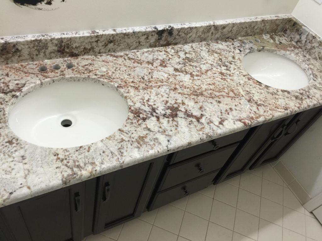 Reputable Bathroom Vanity Oval Undermount Sinks Very Galaxy Granite Galaxy Granite Hesano Brors Color Contrast houzz-03 White Galaxy Granite