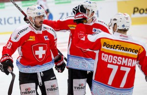 SWITZERLAND ICEHOCKEY CHE CZE