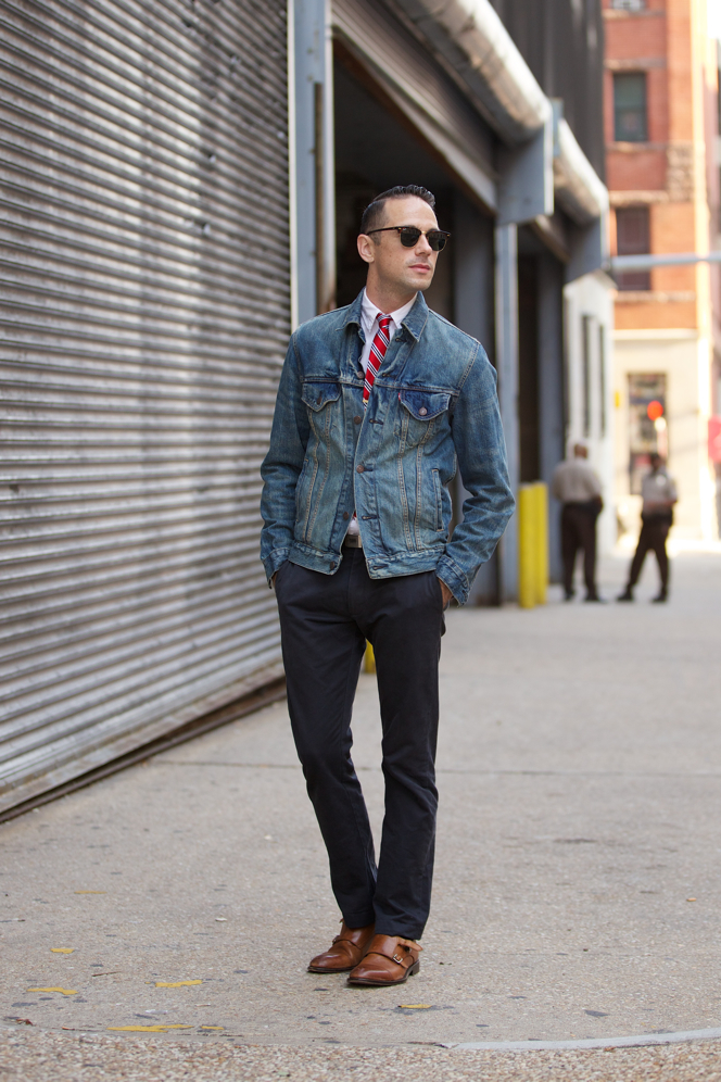 Denim Jacket Fall Essentials - He Spoke Style