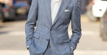 Grey Plaid Suit - He Spoke Style