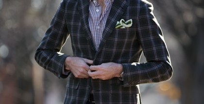 Plaid Sport Coat - He Spoke Style