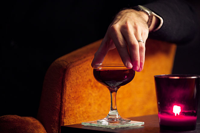 Boulevardier Cocktail - Classic Cocktail Recipe - He Spoke Style