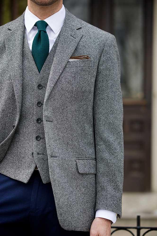 Tweed Blazer and Waistcoat
