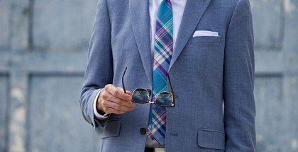 Madras Plaid Tie - He Spoke Style