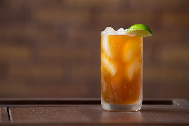 Dark and Stormy - Cocktail Recipe - He Spoke Style
