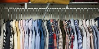 Quick Tip: Making Space in Small Closets - He Spoke Style