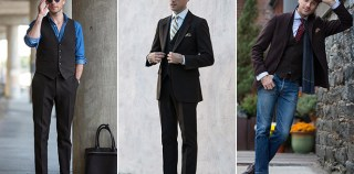 1 Piece/5 Ways: Brown Three-Piece Suit - He Spoke Style