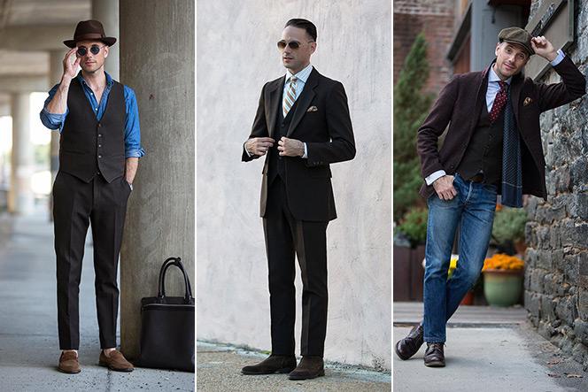1 Piece/5 Ways: Brown Three-Piece Suit - He Spoke Style