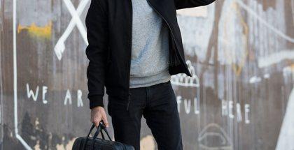Wool Bomber Jacket - He Spoke Style
