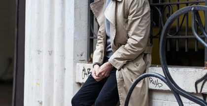 Casual Trench Coat - He Spoke Style