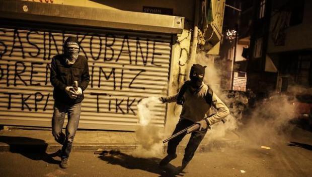 Курдская молодёжь в Стамбуле