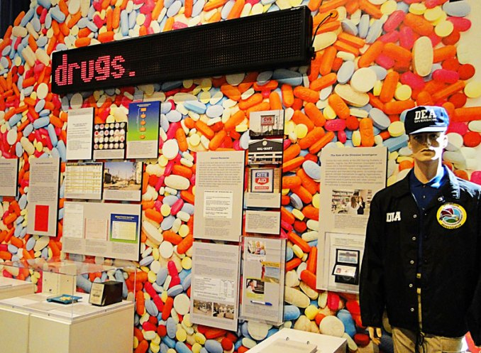 Good Medicine, Bad Behavior: Drug Diversion in America – an interactive DEA Musuem exhibit delving into prescription drug abuse (Photo By: heydayjoe)