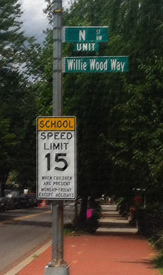 Willie Wood Way (Photo By: heydayjoe)