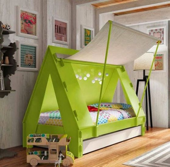 innovadora habitacion para niños